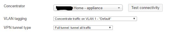 Cisco Meraki WLAN SSID Einstellungen