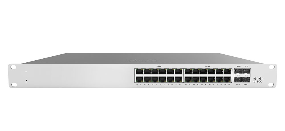 Cisco Meraki MS120-24P - PoE